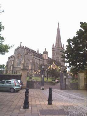 Cathedral Entrance - Londonderry