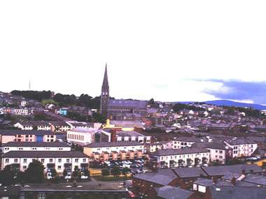 Overview of the city - Londonderry